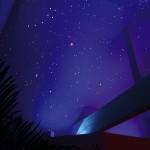 Sternehimmel im Wellnessbereich